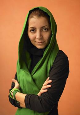 La cineasta iraní Hana Makhmalbaf