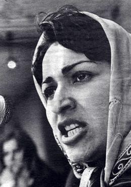 Meena Keshwar Kamal, fundadora de la la Asociación Revolucionaria de las Mujeres de Afganistán (RAWA)