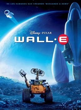 Los carteles promocionales ayudan a situar las películas en un género determinado. El cartel de 'Wall·E', nos sitúa en el cine de ciencia ficción