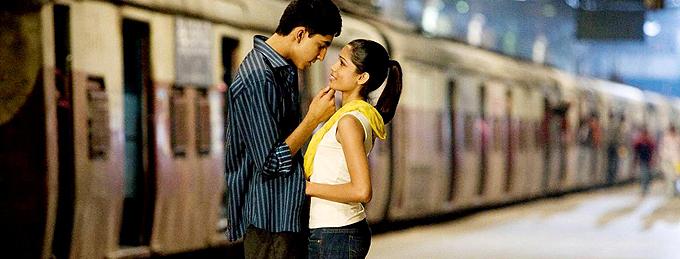 El amor que siente Jamal por Latika es la premisa dramática de 'Slumdog Millionaire'