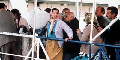 Zouina abandona su vida en Argelia de la que sólo conocemos éste instante