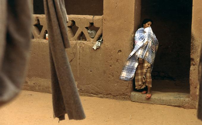 Mujer argelina en Timimoun