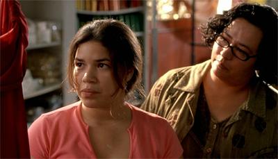 Ana y Estela, heroínas de la película