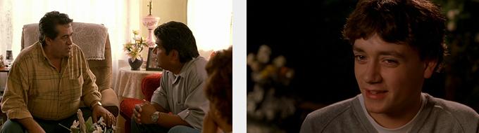 El Señor García escucha atentamente a Mister Guzmán. Y Jimmy, una nueva forma de masculinidad.
