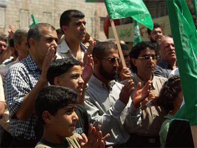 Simpatizantes de Hamás