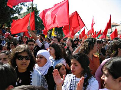 Mujeres palestinas en 2007