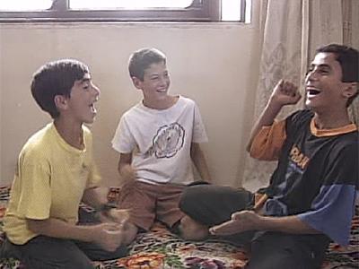 Encuentro de Yarko y Daniel con Faraj y Sanabel