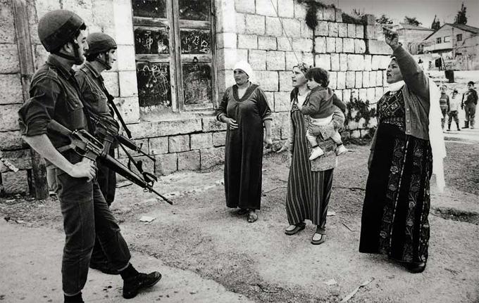 Mujeres palestinas en 1988