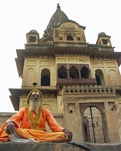 Los brahmanes conforman la casta superior de la India y la que oficia los ritos del hinduismo